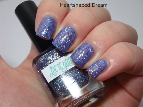 Melanies Frankenlack Amethyst + Let it Glitter Invincible