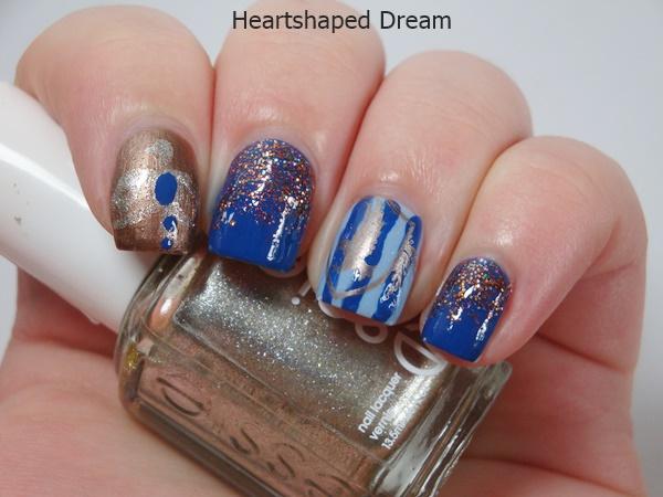 Ravenclaw Nail Design