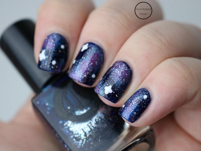 Galaxy Nails mit Cirque Tibetan Nights