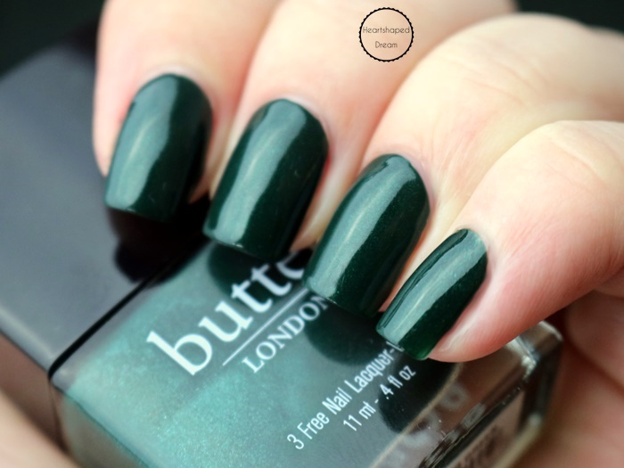 Butter London British Racing Green