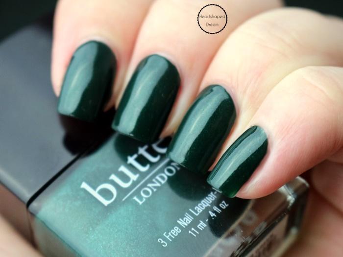 Butter London British Racing Green