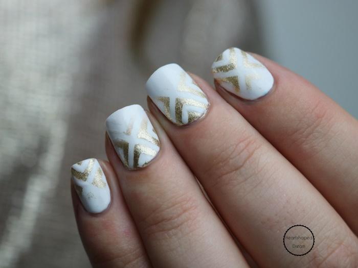 Frischlackiert Challenge Weiß & Gold