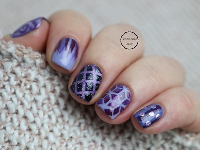 Frischlackiert Challenge Violett Vibes
