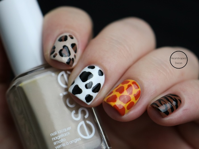 Yps lackiert Challenge Animal Print